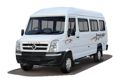 13 Seater Luxury 1×1 Tempo Traveller with Sofa Seat and Bed