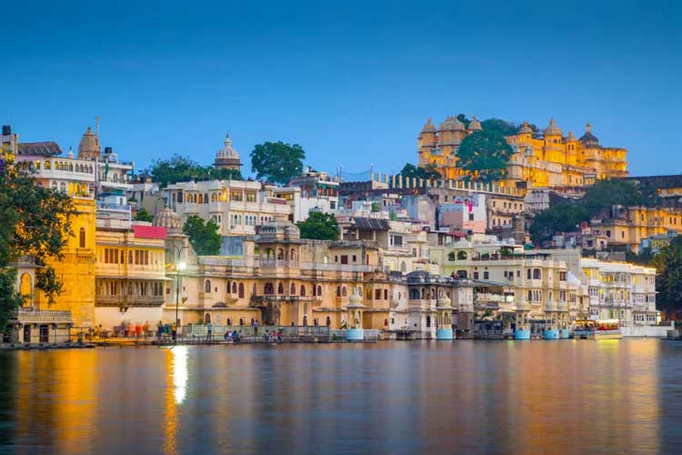 Udaipur Tour Package from Jaipur, Book Udaipur Sightseeing Package